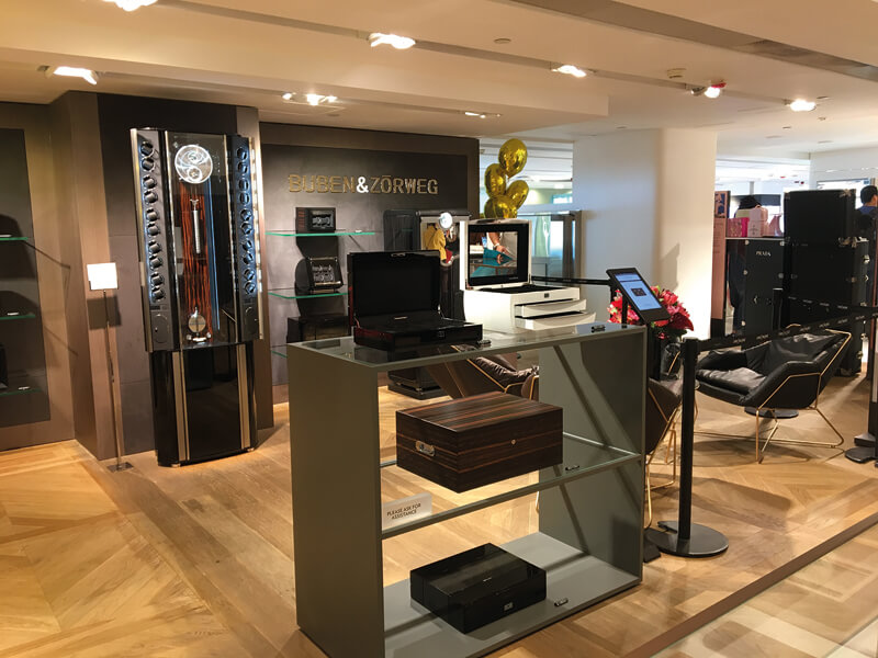 Buben & Zorweg watch winders Hong Kong